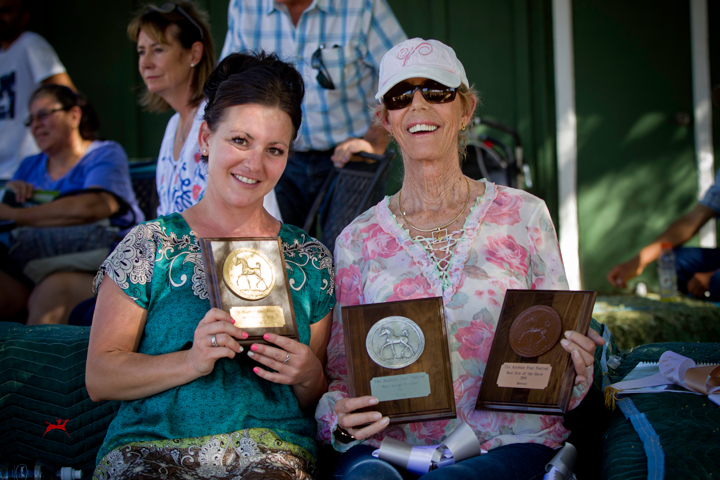 Foal Festival Awards Sheila and Kristi