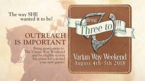 2018 Varian Way Weekend - Outreach